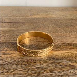 COACH GOLD BRACELET